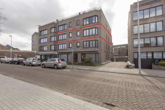 Zeer ruim appartement met 3 slaapkamers + ruime  ondergrondse garagebox + 2 bergingen – centrum Lier