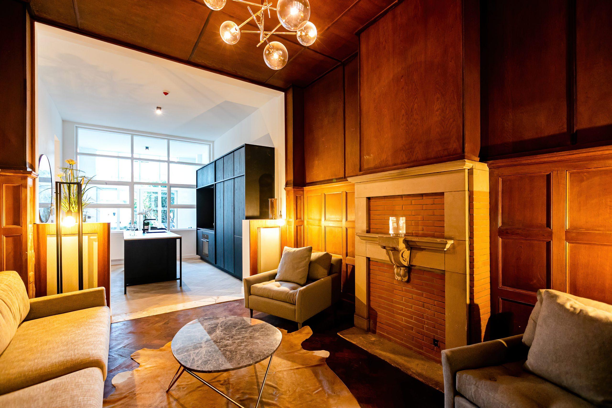 Karaktervol gelijkvloers appartement – Antwerpen